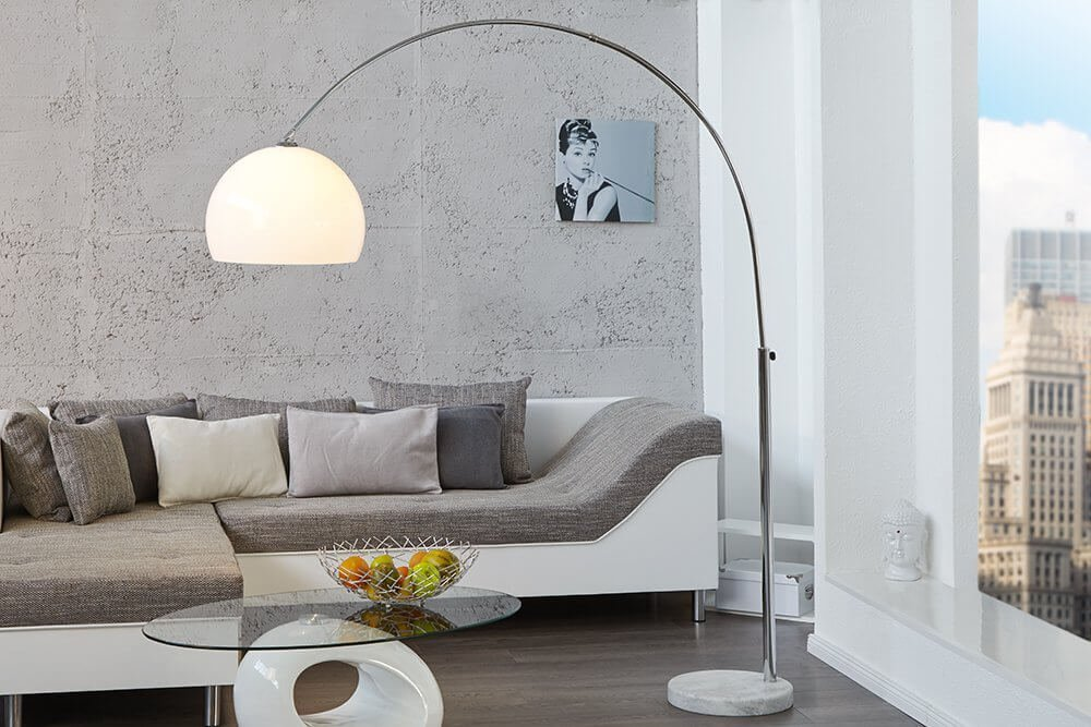 bogenlampe jetzt die besten modelle finden bogenleuchte. Black Bedroom Furniture Sets. Home Design Ideas